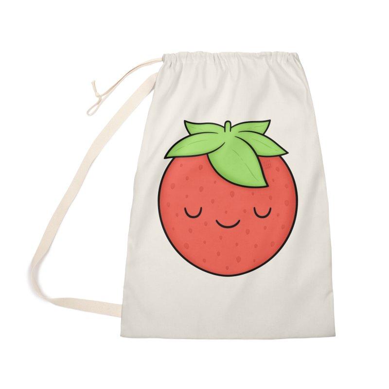 Strawberry Accessories Bag by Kim Vervuurt
