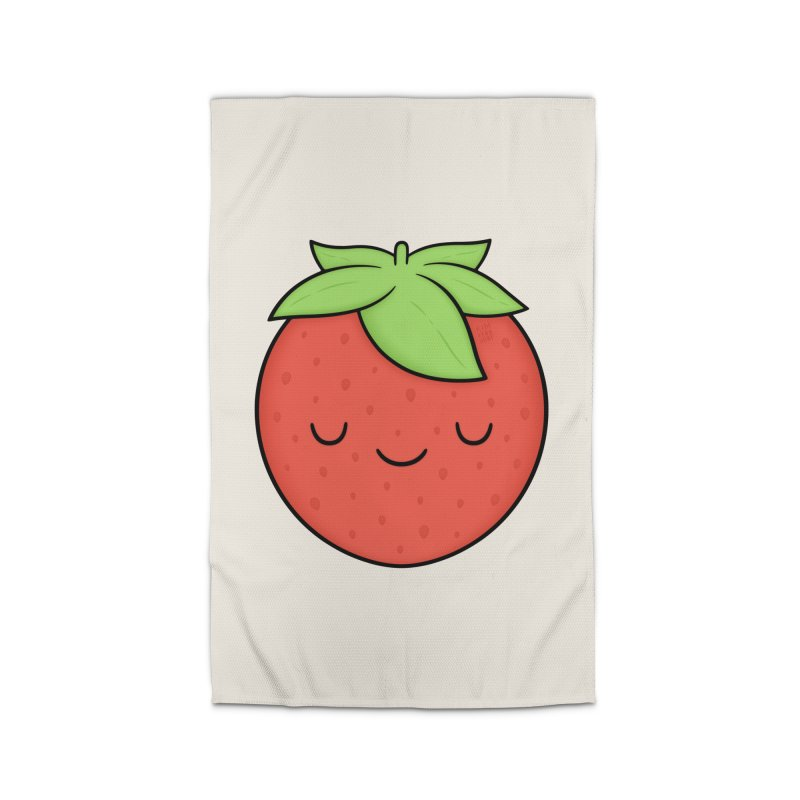 Strawberry Home Rug by Kim Vervuurt