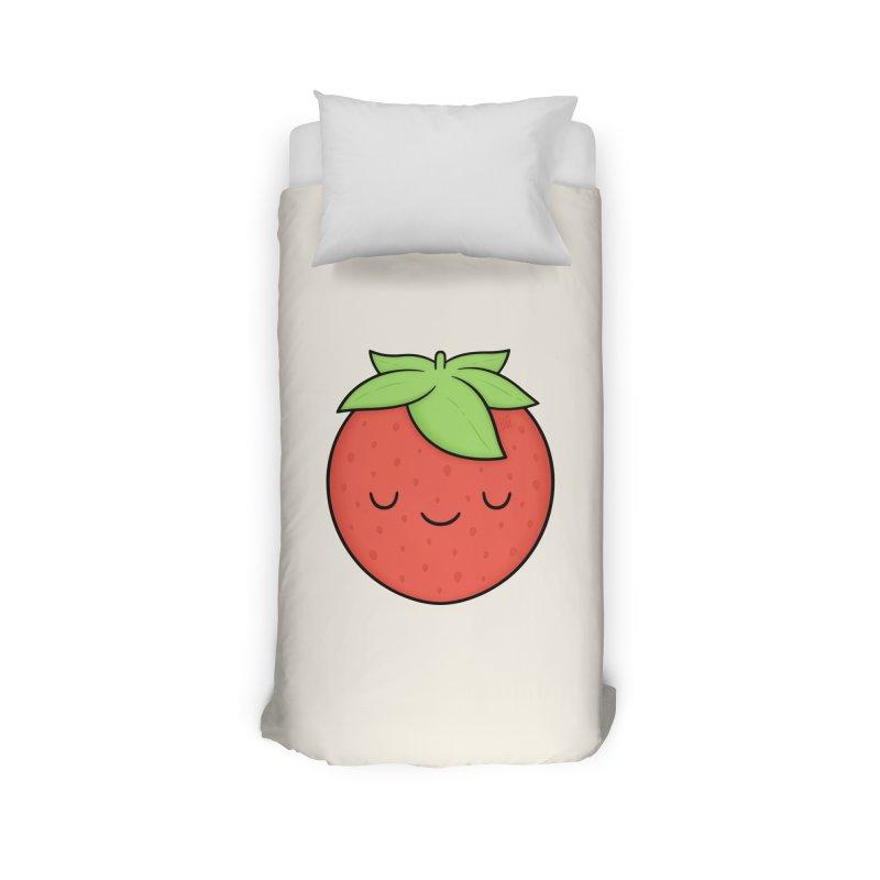 Strawberry Home Duvet by Kim Vervuurt
