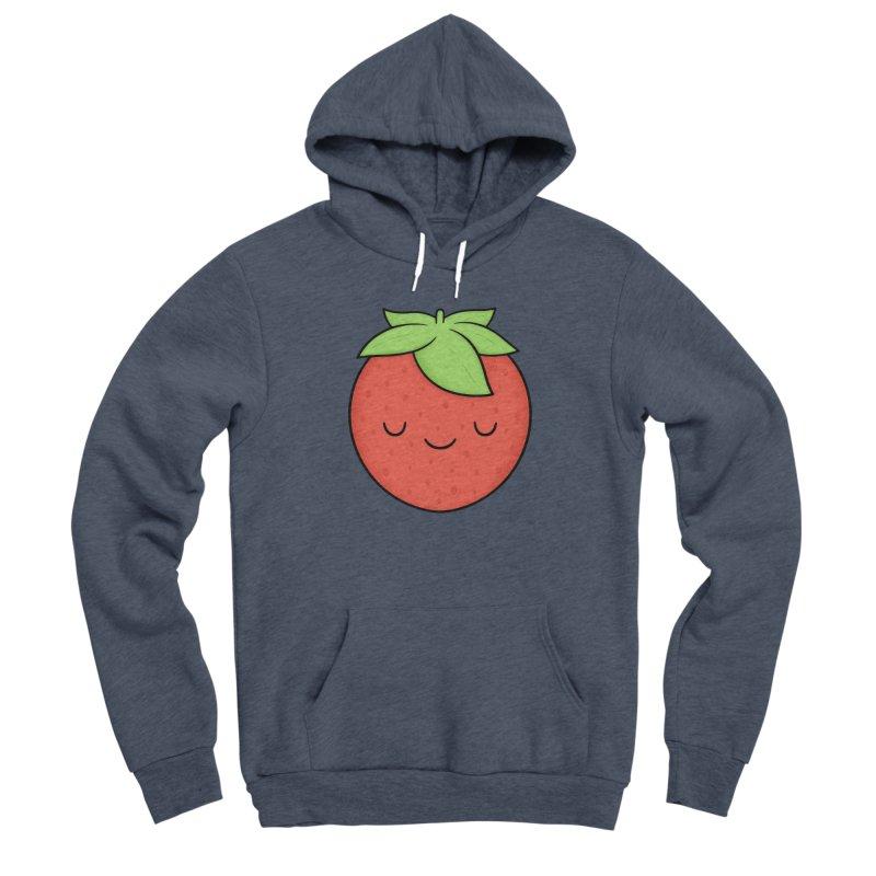 Strawberry Men's Pullover Hoody by Kim Vervuurt