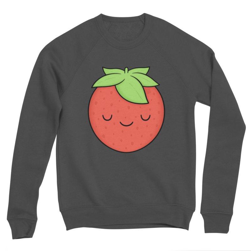 Strawberry Women's Sponge Fleece Sweatshirt by Kim Vervuurt