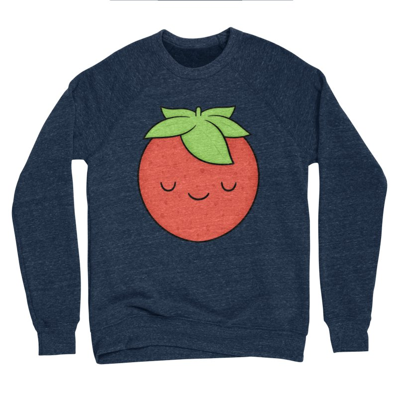 Strawberry Men's Sponge Fleece Sweatshirt by Kim Vervuurt