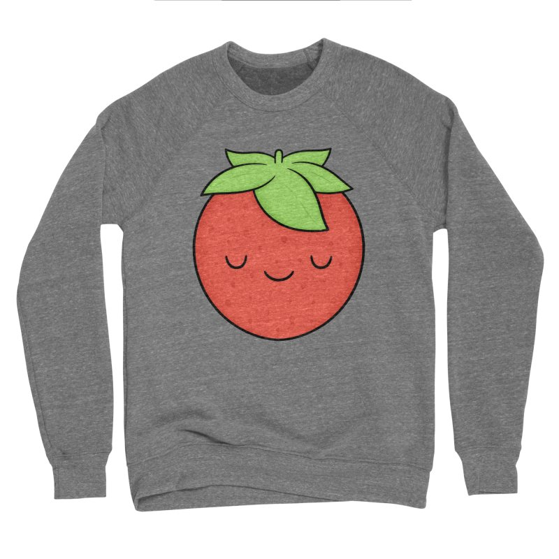 Strawberry Women's Sponge Fleece Sweatshirt by Kim Vervuurt