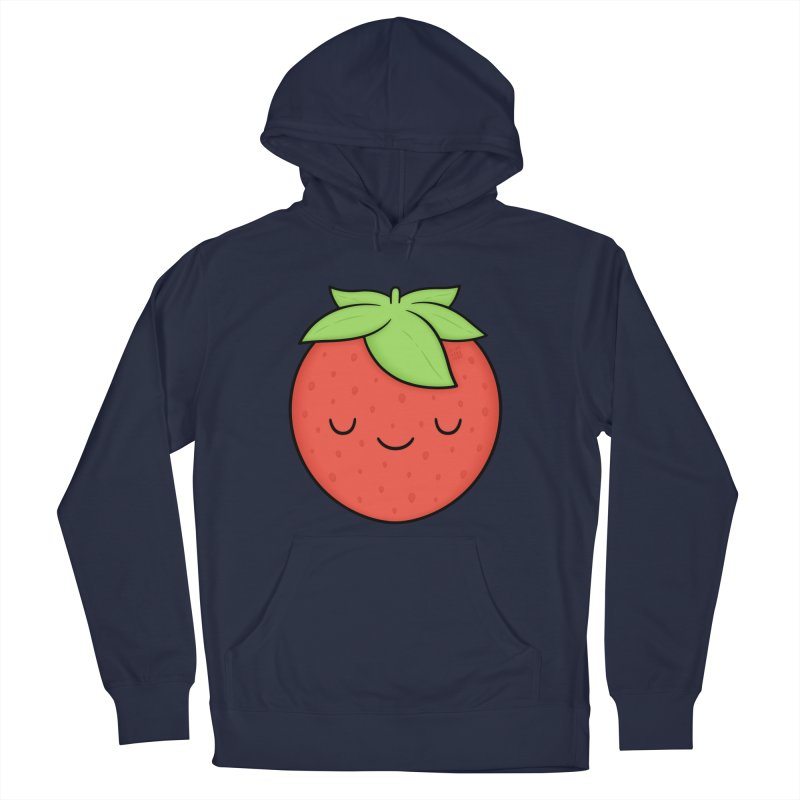 Strawberry Men's Pullover Hoody by Kim Vervuurt