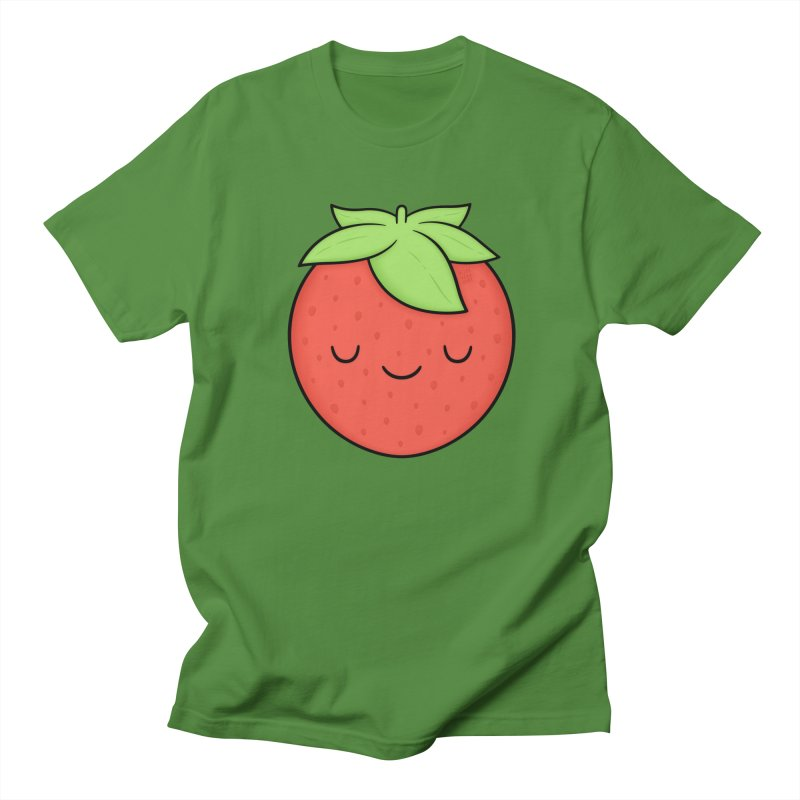 Strawberry Men's T-Shirt by Kim Vervuurt