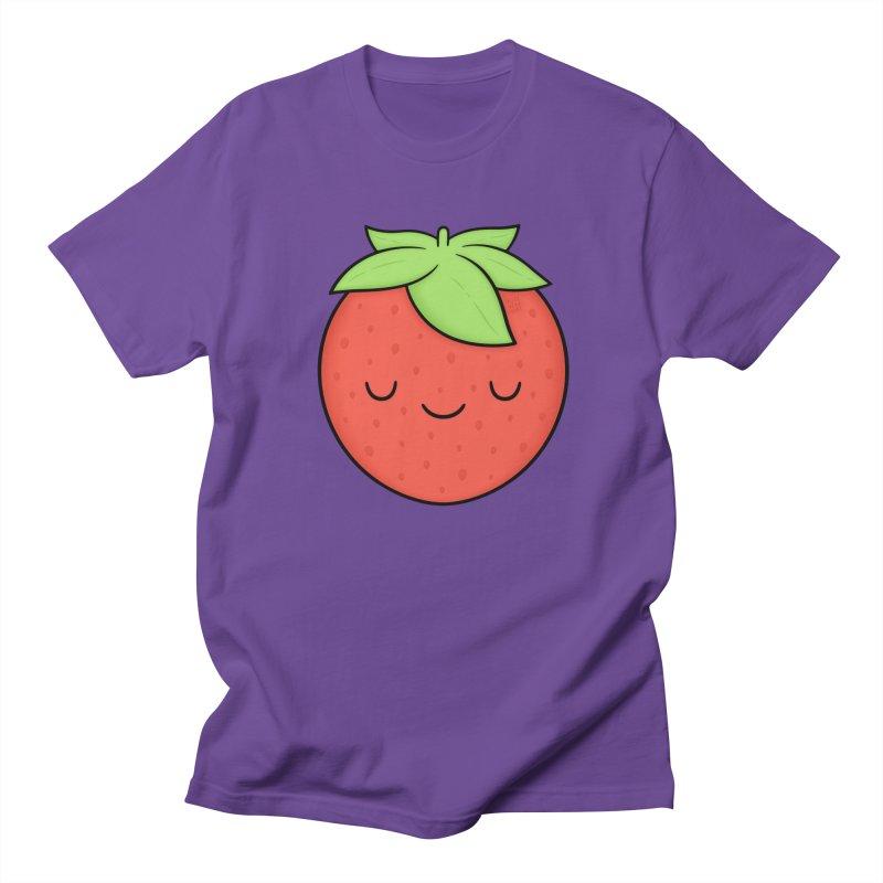Strawberry Men's Regular T-Shirt by Kim Vervuurt