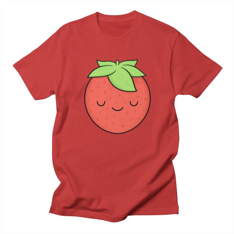 Strawberry Men's T-Shirt by Kim Vervuurt