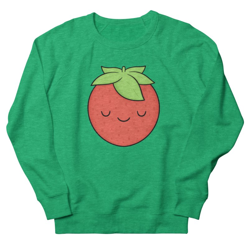 Strawberry Men's Sweatshirt by Kim Vervuurt