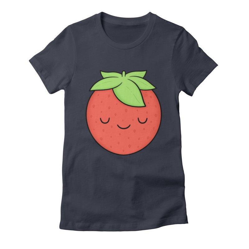 Strawberry Women's T-Shirt by Kim Vervuurt