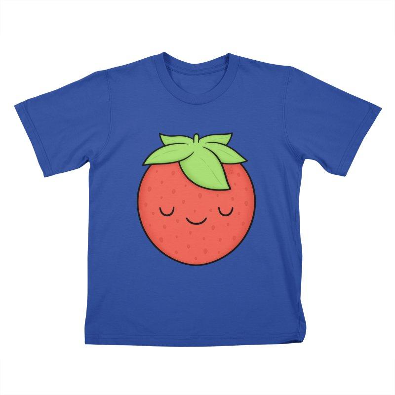 Strawberry Kids T-Shirt by Kim Vervuurt