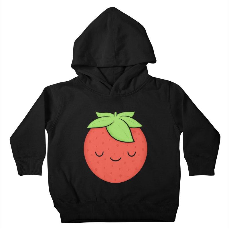 Strawberry Kids Toddler Pullover Hoody by Kim Vervuurt