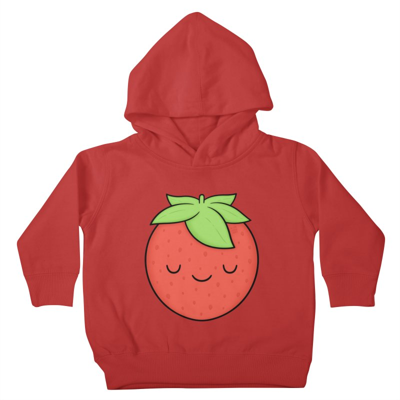 Strawberry Kids Toddler Pullover Hoody by Kim Vervuurt