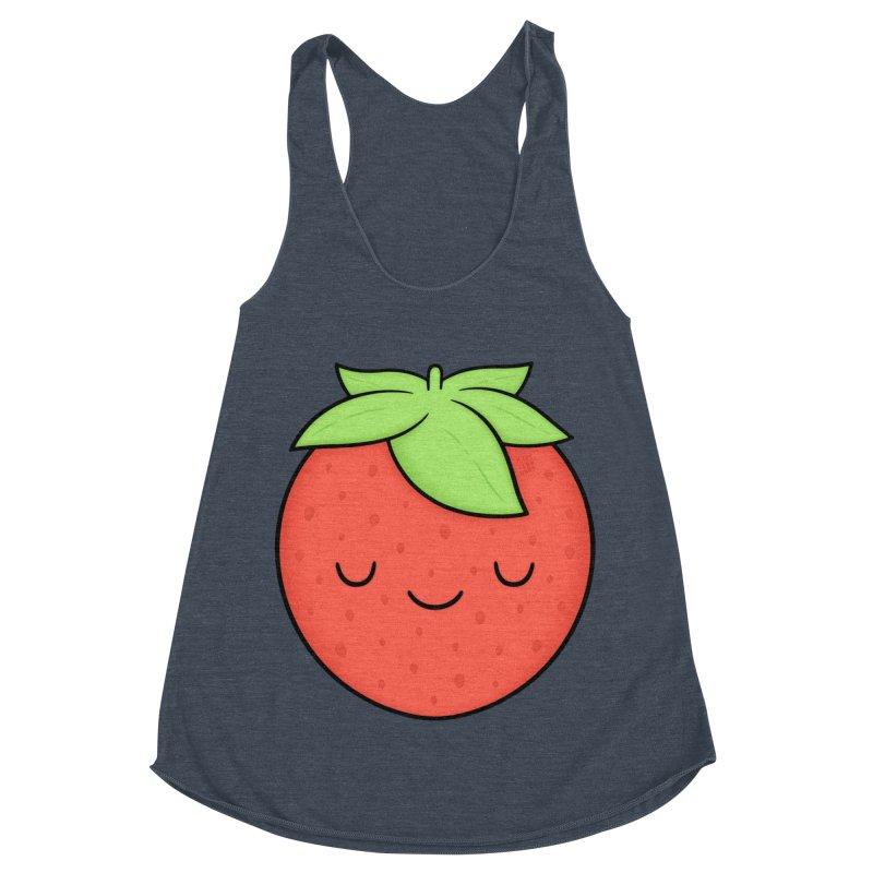 Strawberry Women's Tank by Kim Vervuurt