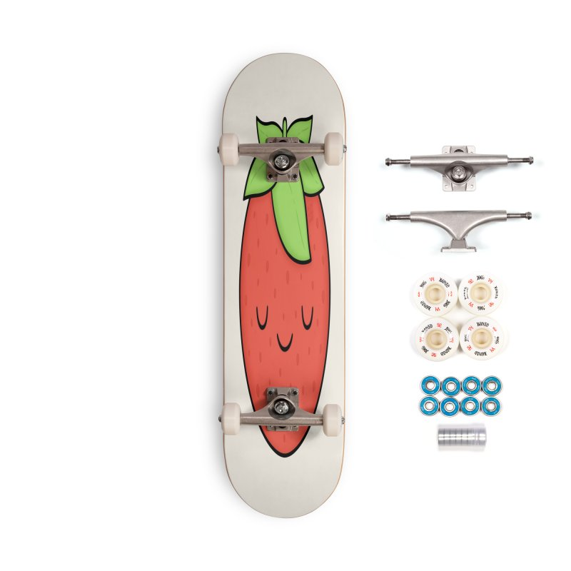 Strawberry Accessories Skateboard by Kim Vervuurt