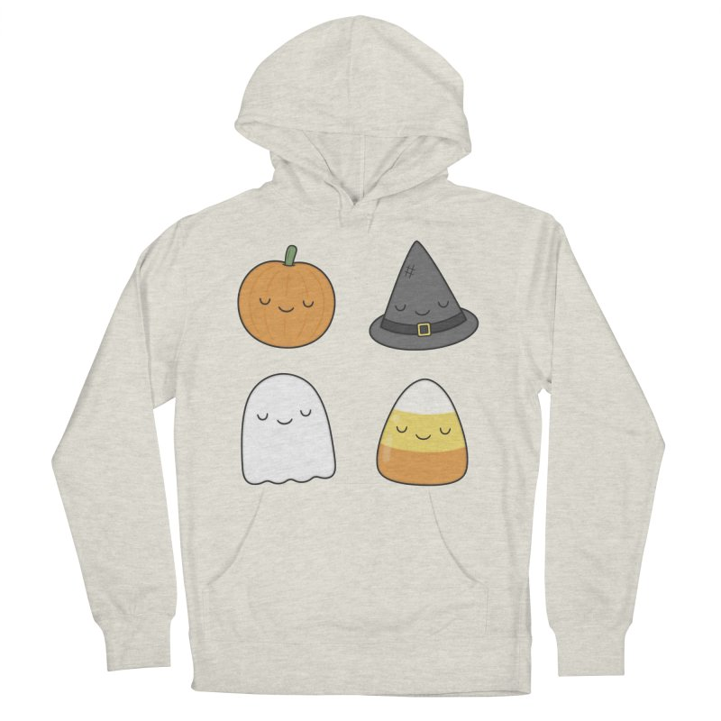 Happy Halloween Women's French Terry Pullover Hoody by Kim Vervuurt