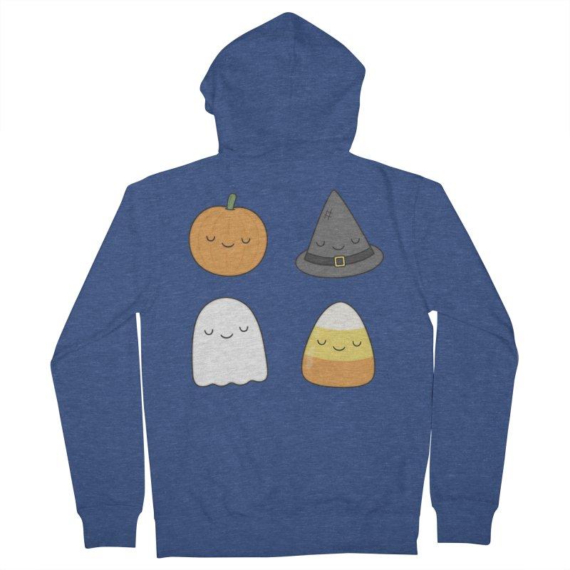 Happy Halloween Women's Zip-Up Hoody by Kim Vervuurt