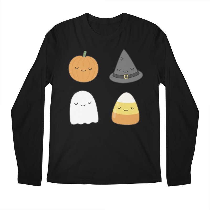 Happy Halloween Men's Regular Longsleeve T-Shirt by Kim Vervuurt