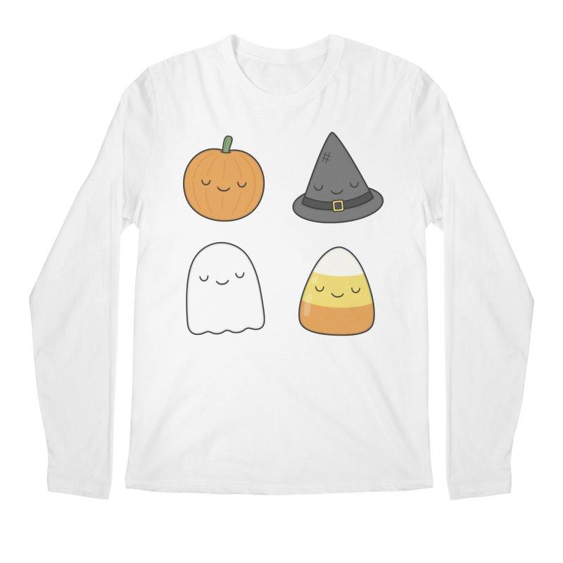 Happy Halloween Men's Longsleeve T-Shirt by Kim Vervuurt