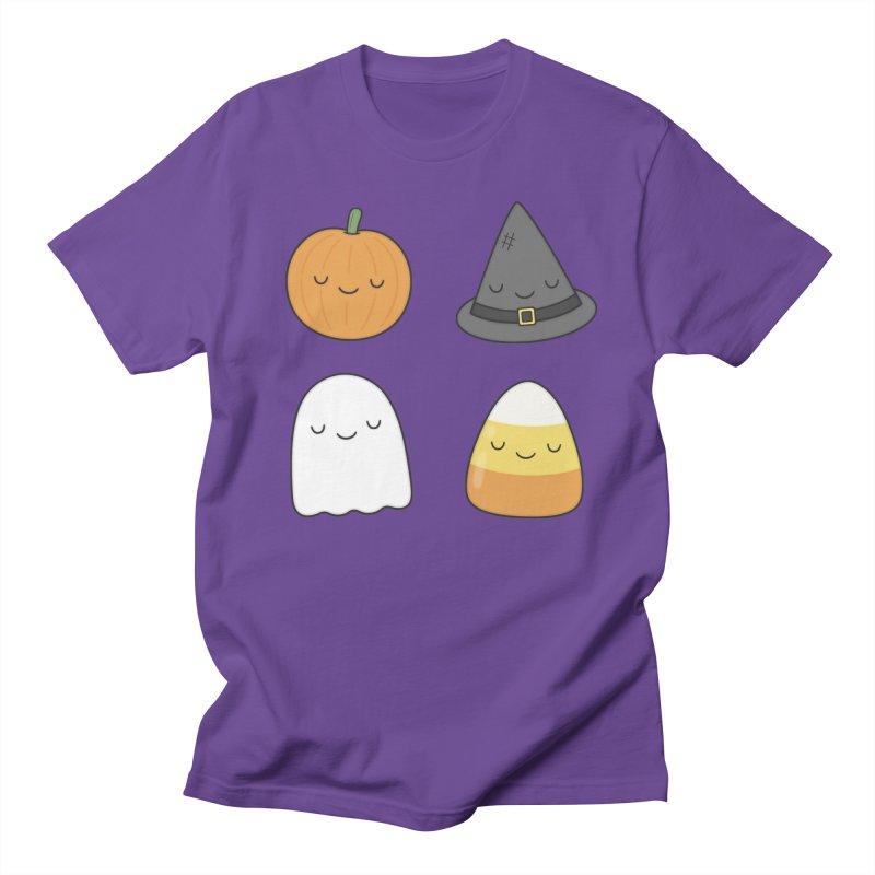 Happy Halloween Men's Regular T-Shirt by Kim Vervuurt