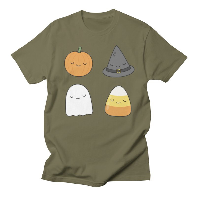 Happy Halloween Men's T-Shirt by Kim Vervuurt