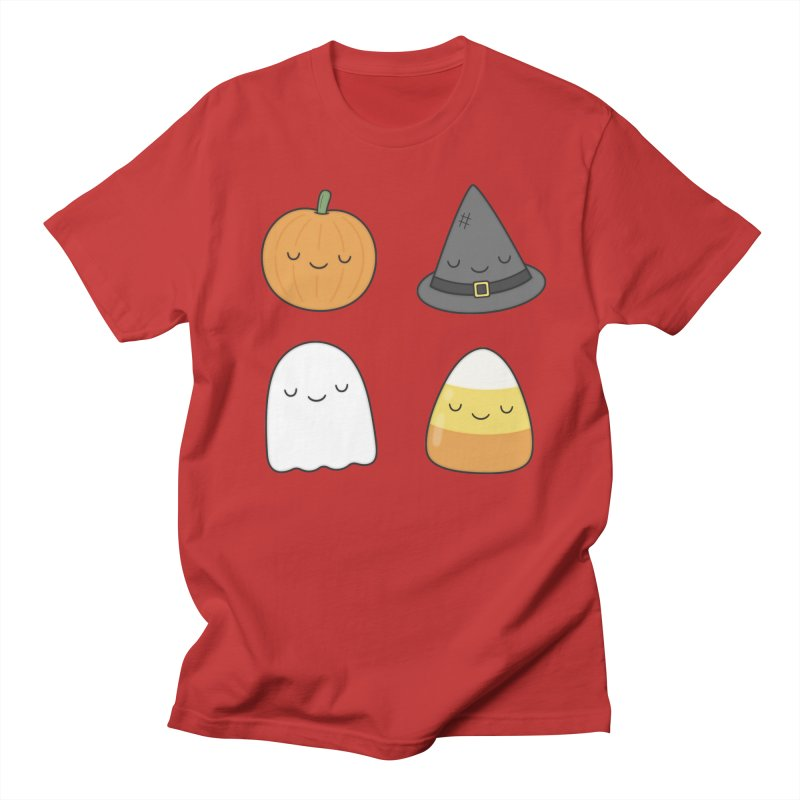 Happy Halloween Men's Regular T-Shirt by Kim Vervuurt
