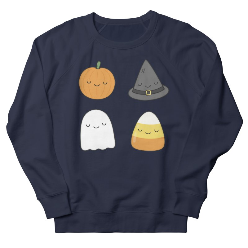 Happy Halloween Men's French Terry Sweatshirt by Kim Vervuurt