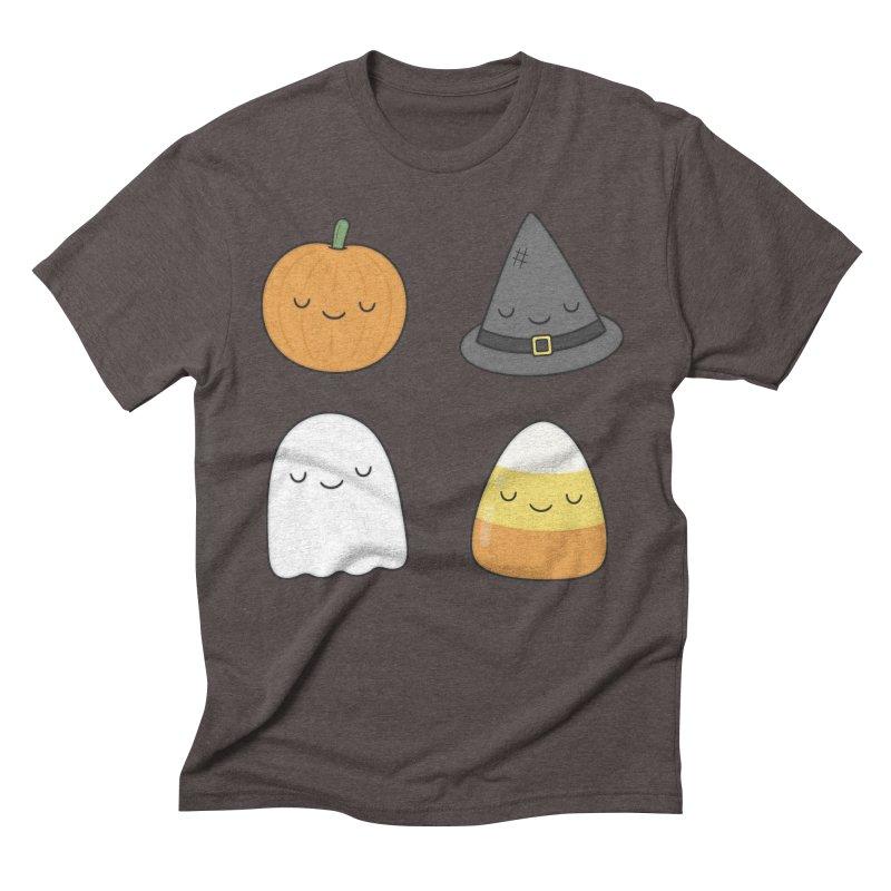 Happy Halloween Men's Triblend T-shirt by Kim Vervuurt