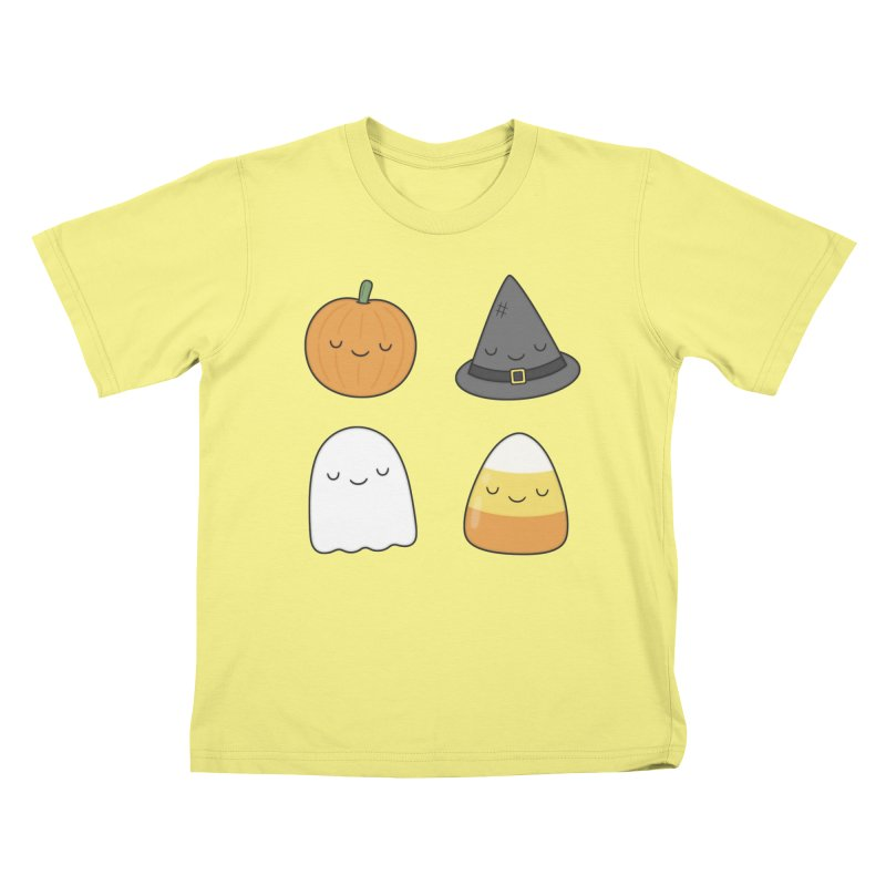 Happy Halloween Kids T-shirt by Kim Vervuurt