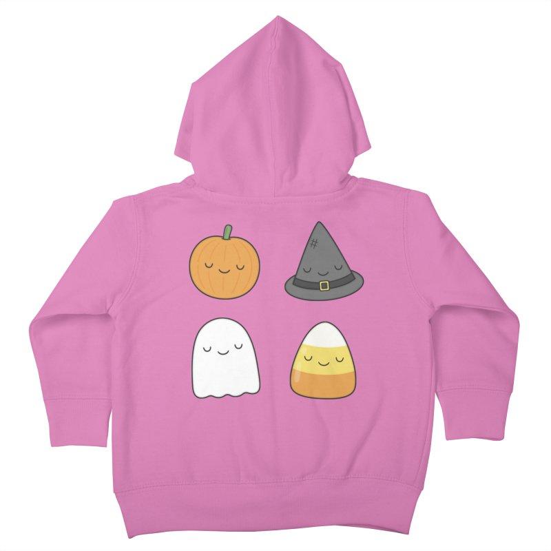 Happy Halloween Kids Toddler Zip-Up Hoody by Kim Vervuurt