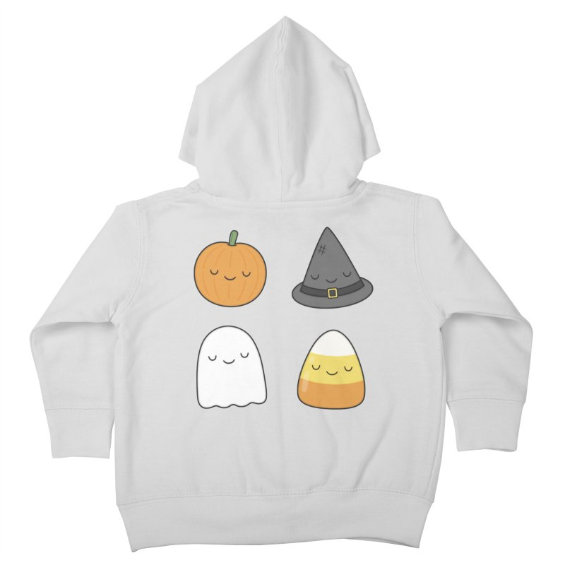 Happy Halloween Kids Toddler Zip-Up Hoody by Kim Vervuurt