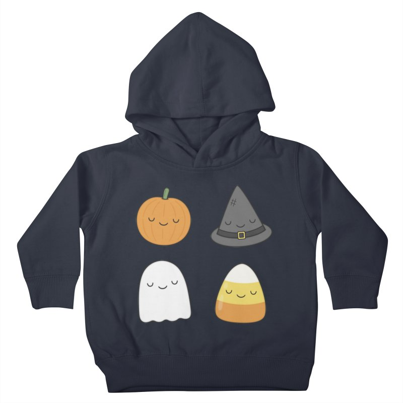 Happy Halloween Kids Toddler Pullover Hoody by Kim Vervuurt