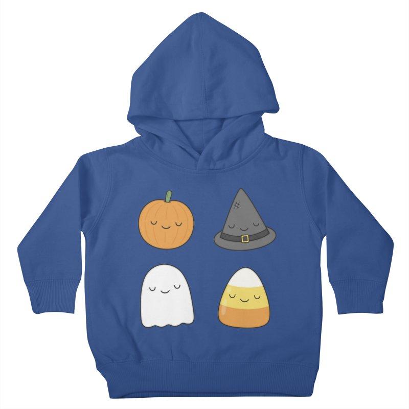 Happy Halloween Kids Toddler Pullover Hoody by Kim Vervuurt