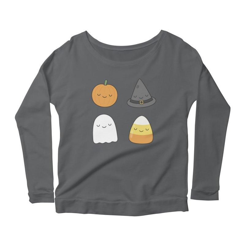 Happy Halloween Women's Longsleeve T-Shirt by Kim Vervuurt