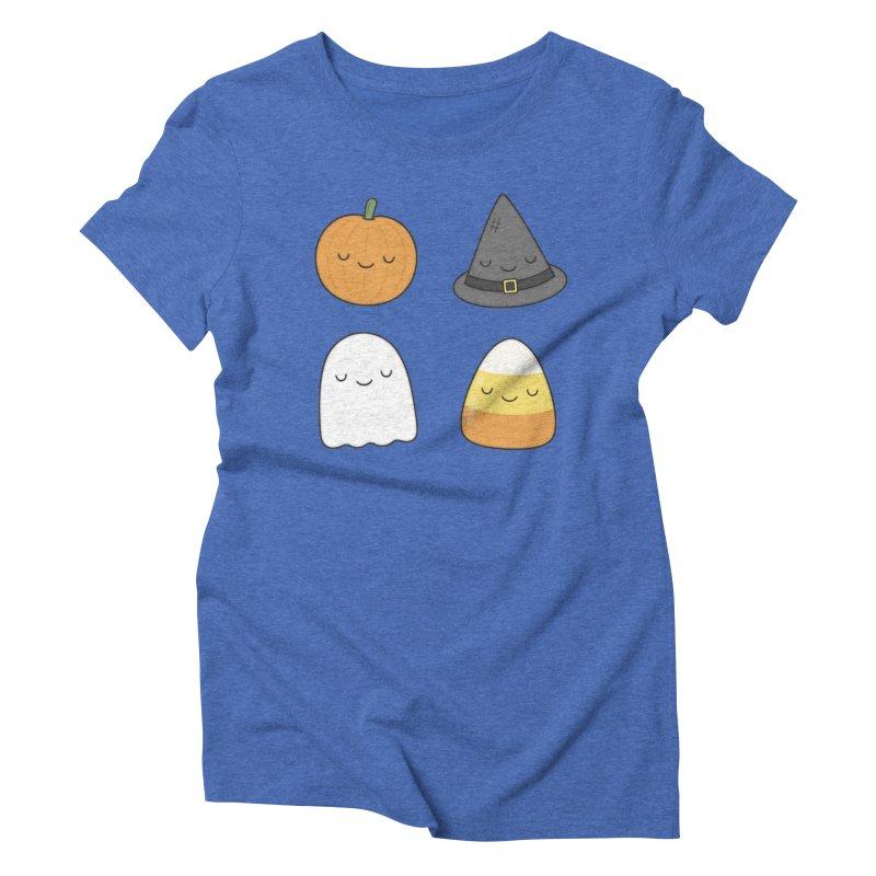 Happy Halloween Women's Triblend T-Shirt by Kim Vervuurt