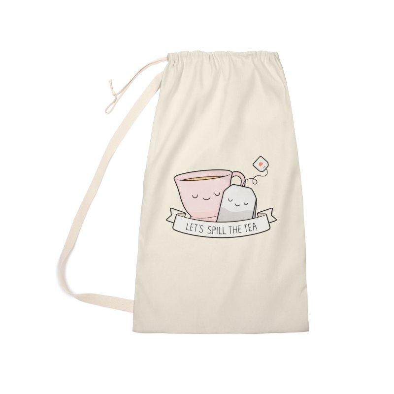 Let's Spill The Tea Accessories Bag by Kim Vervuurt