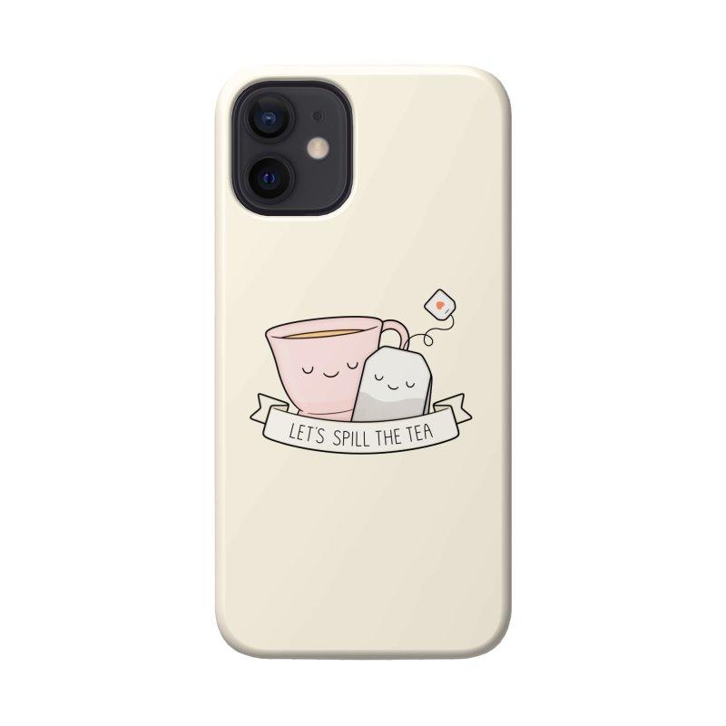 Let's Spill The Tea Accessories Phone Case by Kim Vervuurt