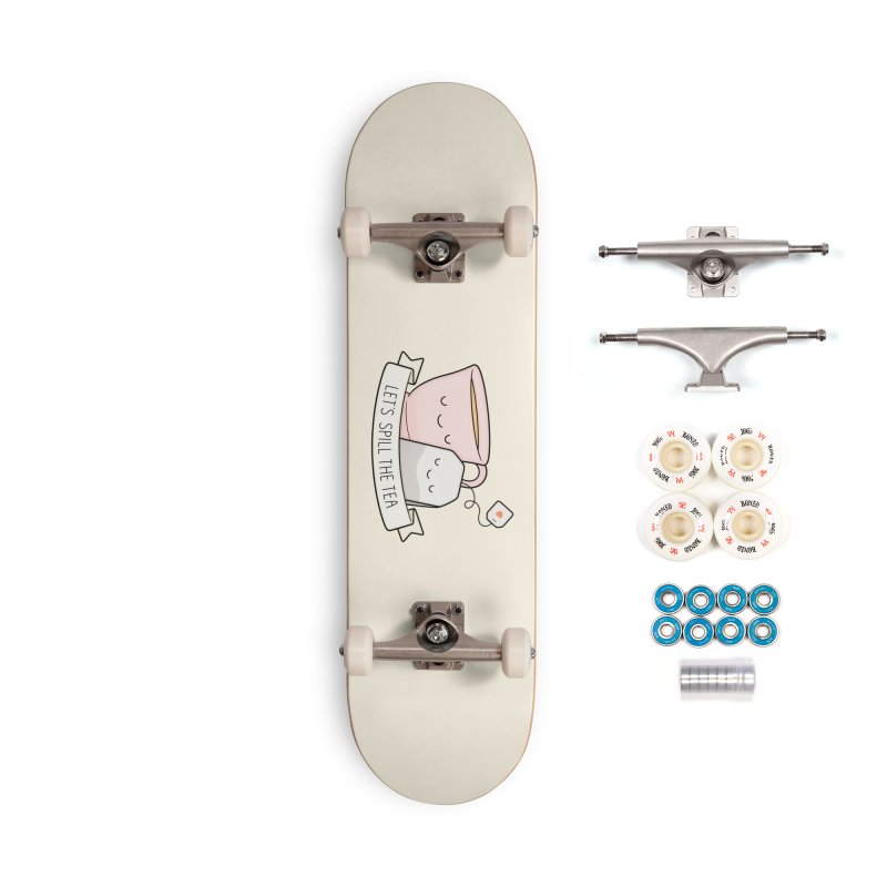 Let's Spill The Tea Accessories Complete - Premium Skateboard by Kim Vervuurt
