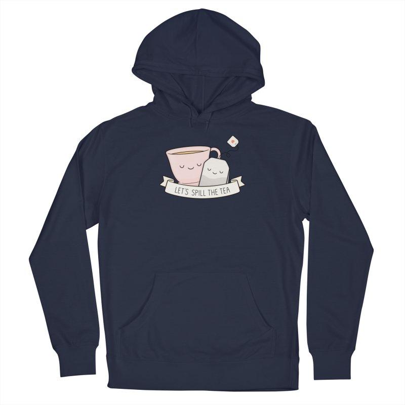 Let's Spill The Tea Men's Pullover Hoody by Kim Vervuurt