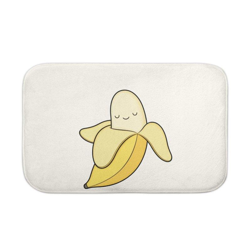 Banana! Home Bath Mat by Kim Vervuurt