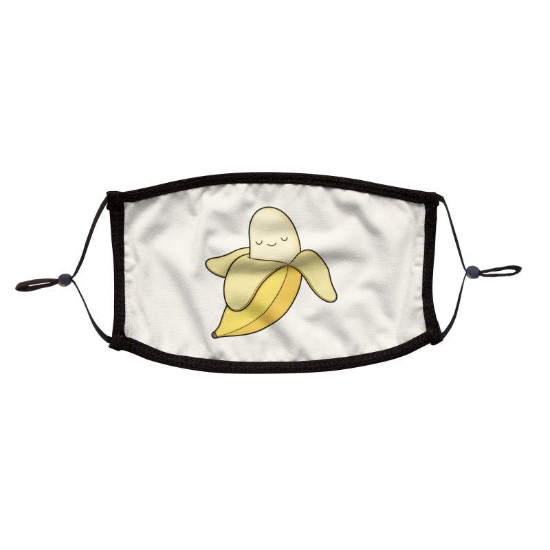 Banana! Accessories Face Mask by Kim Vervuurt