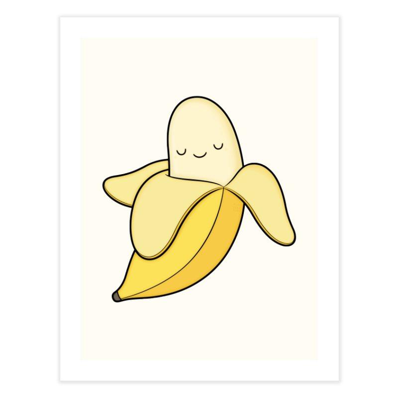Banana! Home Fine Art Print by Kim Vervuurt