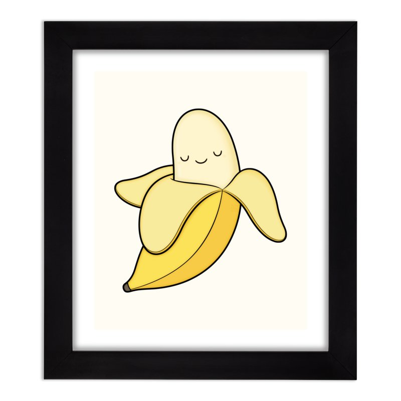 Banana! Home Framed Fine Art Print by Kim Vervuurt