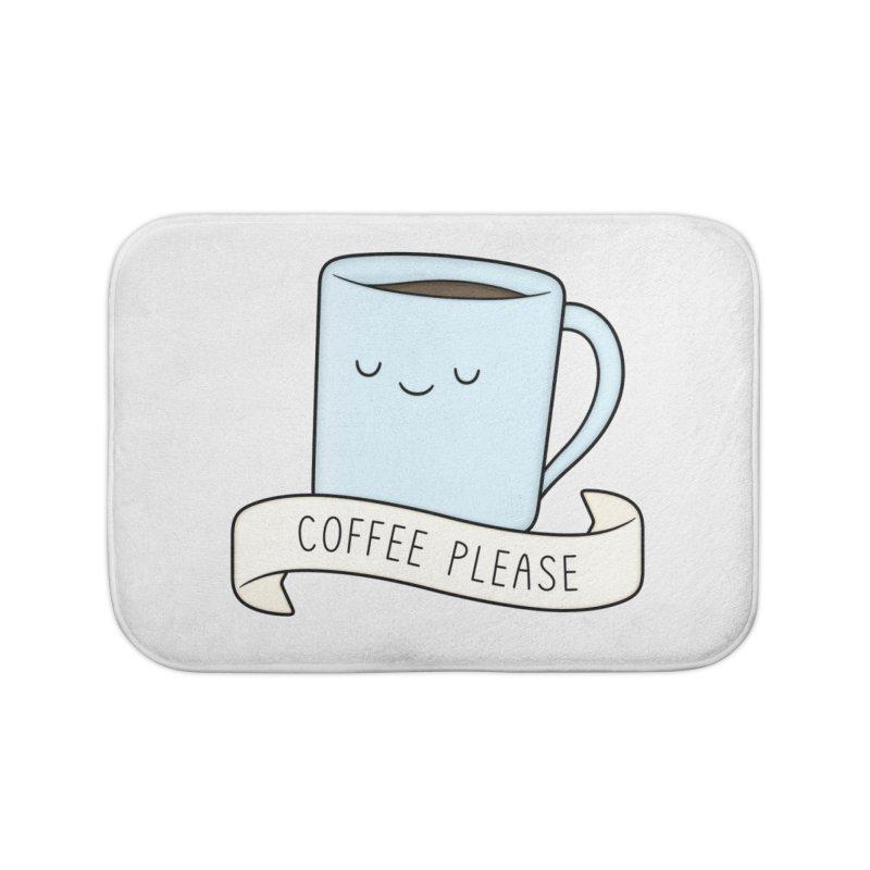 Coffee Please! Home Bath Mat by Kim Vervuurt