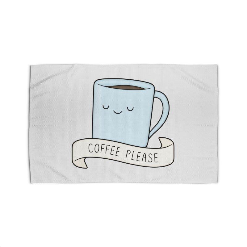 Coffee Please! Home Rug by Kim Vervuurt
