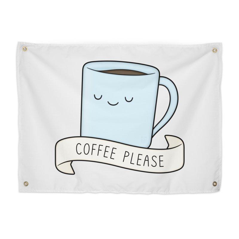 Coffee Please! Home Tapestry by Kim Vervuurt