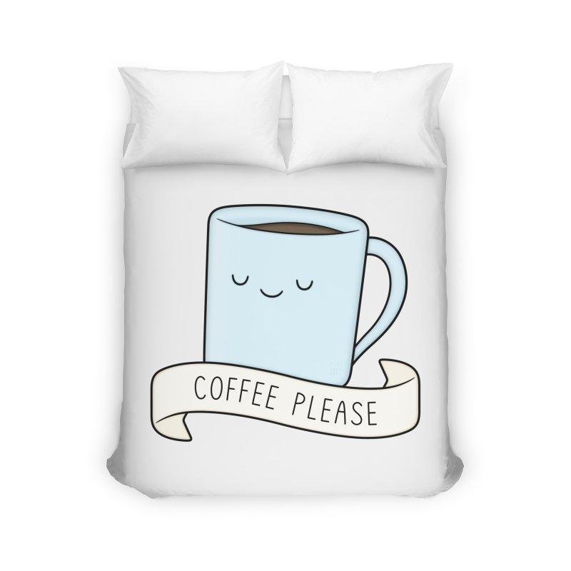 Coffee Please! Home Duvet by Kim Vervuurt
