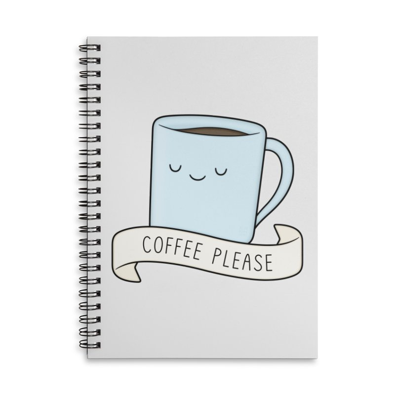 Coffee Please! Accessories Notebook by Kim Vervuurt