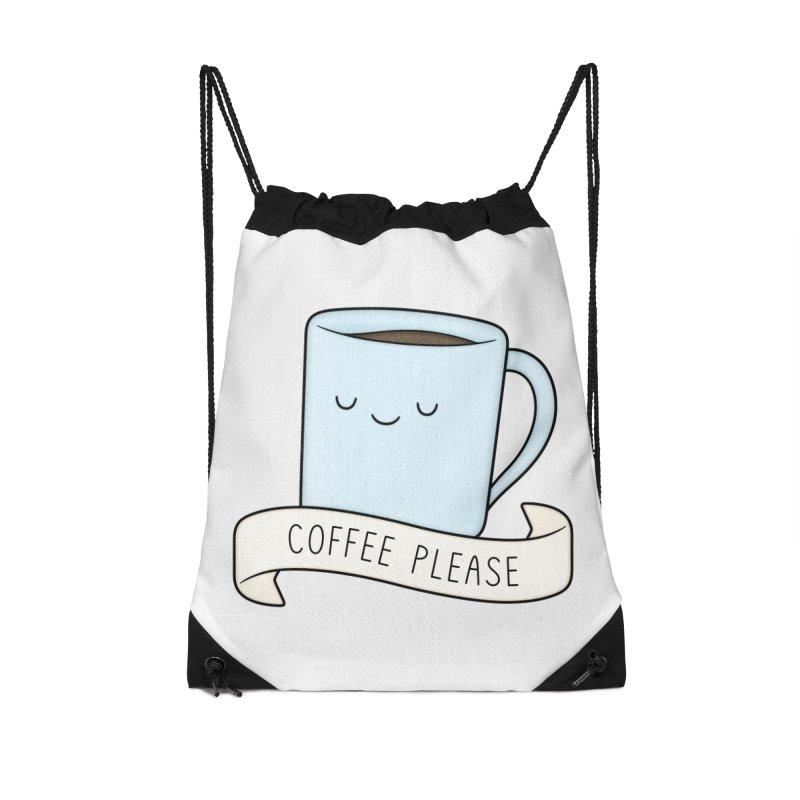 Coffee Please! Accessories Bag by Kim Vervuurt