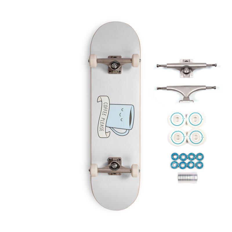 Coffee Please! Accessories Skateboard by Kim Vervuurt