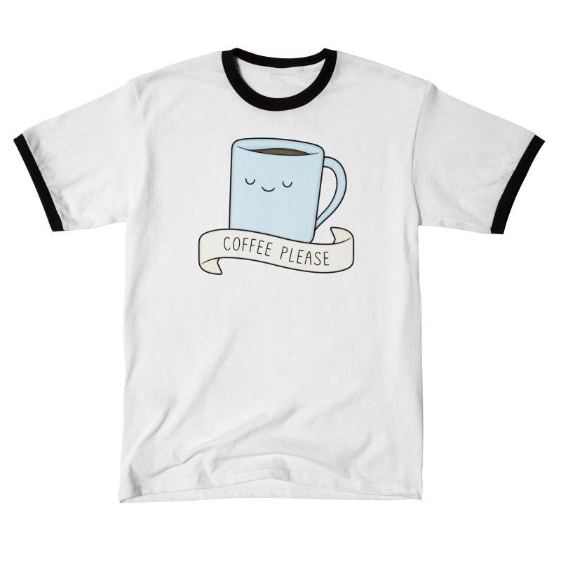 Coffee Please! Women's T-Shirt by Kim Vervuurt